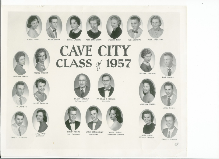 Dad was VP of his and Mom's senior class