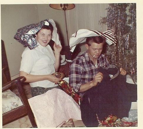 Dort and Ben, Christmas 1960